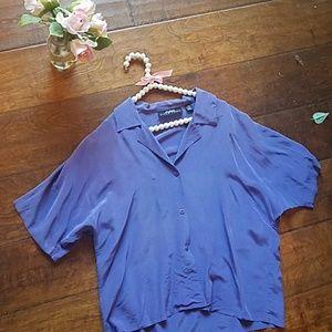 100 percent silk Ellen Tracy blouse